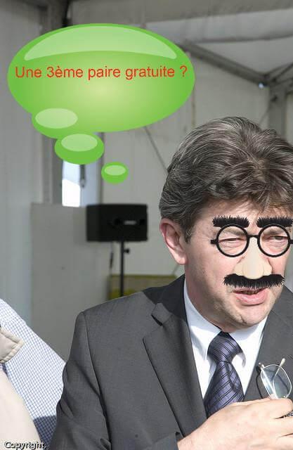 """Jean-Luc Mélenchon : """"Il est fou, Afflelou !"""""""