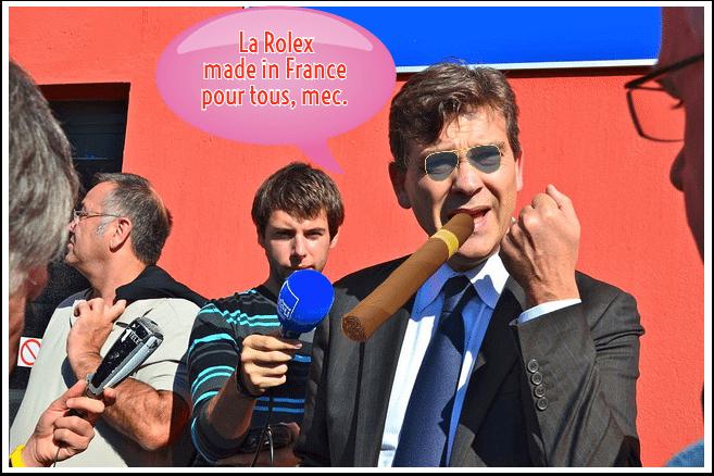 La Rolex made in France pour tous, mec.