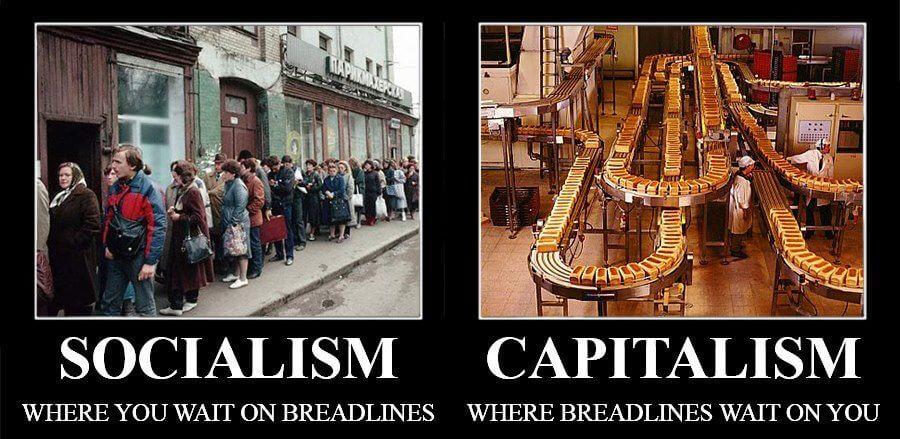 Quelle est la différence entre le communisme et le capitalisme ?