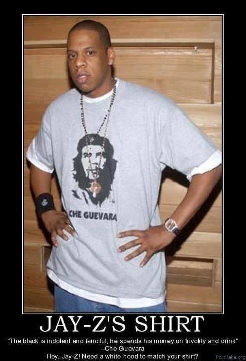 Jay-Z aime Che Guevara. Pas vice versa.
