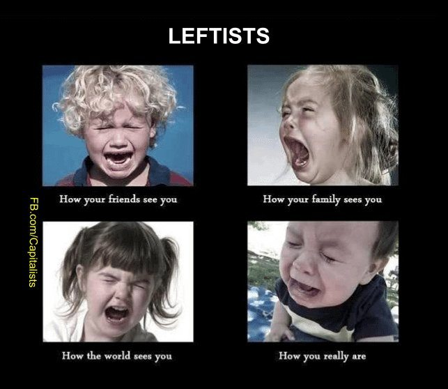 Leftists – how they really are