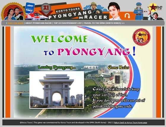 Pyongyang Racer : jouer au premier jeu vidéo communiste