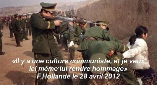 Je veux rendre hommage à la culture communiste