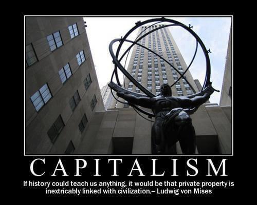 Civilisation et propriété privée