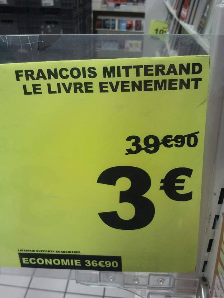 François Mitterrand, le livre événement