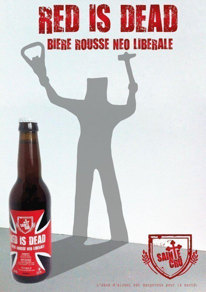 Bière rousse néolibérale