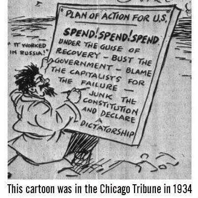 Blame the capitalists