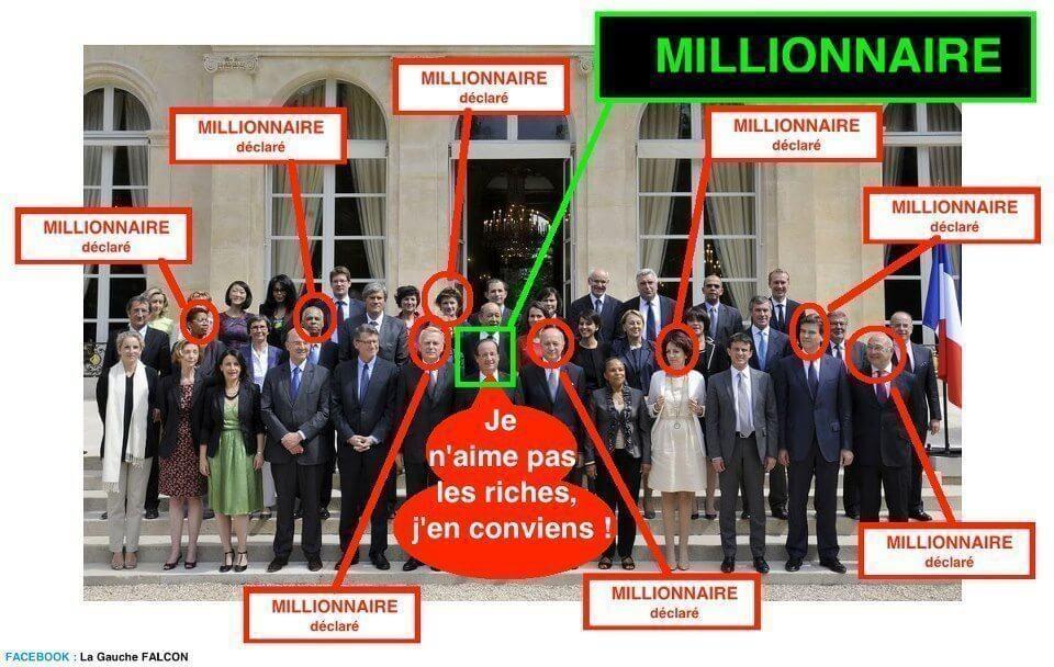 Ces millionnaires qui nous gouvernent
