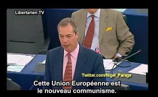 Cette union européenne est le nouveau communisme