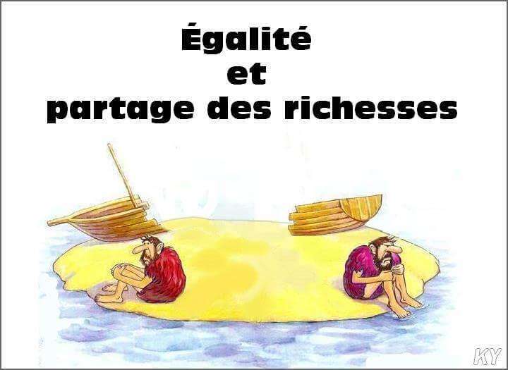 Egalité et partage des richesses
