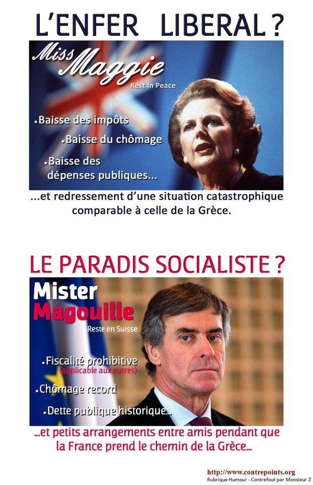 Enfer libéral ou paradis socialiste ?