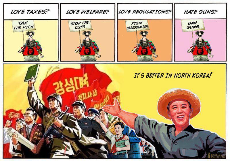 La Corée du nord, c'est mieux