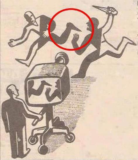 La télé de gauche