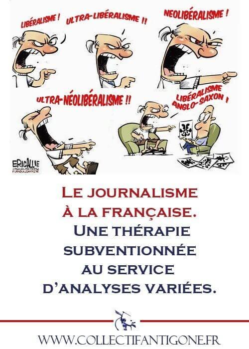 Le journalisme à la française