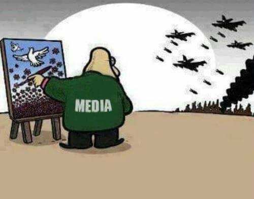 Le monde vu par les médias