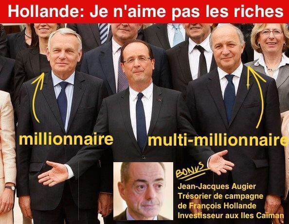 Ne pas aimer les riches. Sauf ses amis riches.