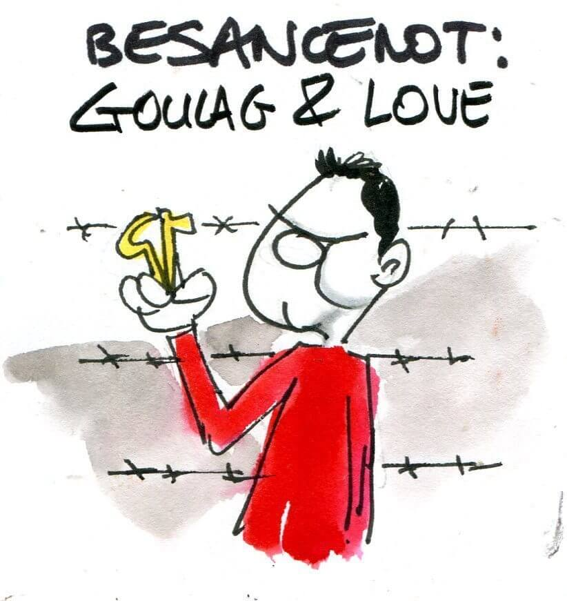 Besancenot : gouland and love