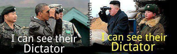 Je peux voir leur dictateur