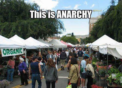 Le capitalisme c'est l'anarchie
