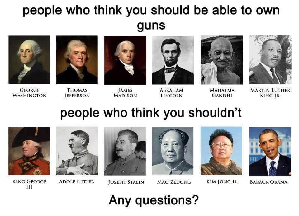 Les armes c'est dangereux