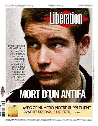 Mort d'un antifa