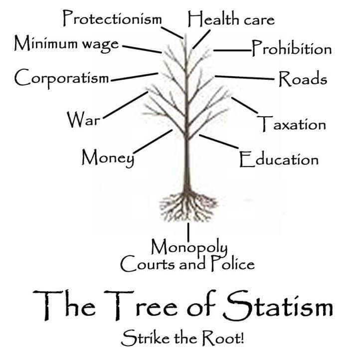 The tree of statism