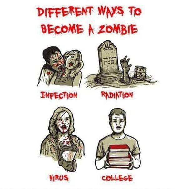 Comment devenir un zombie ?