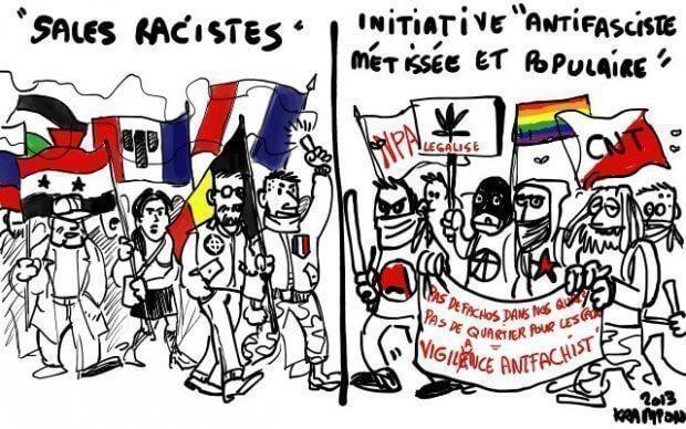 Initiative antifasciste métissée et populaire