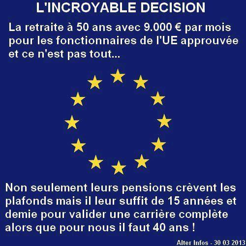 Quand je serai grand, je veux être fonctionnaire de l'UE