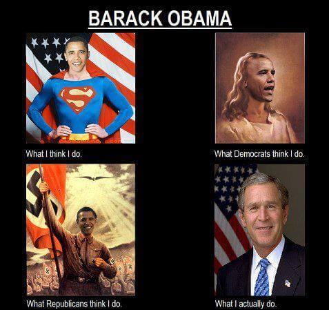 Barack Obama ouvre sa grande Bush