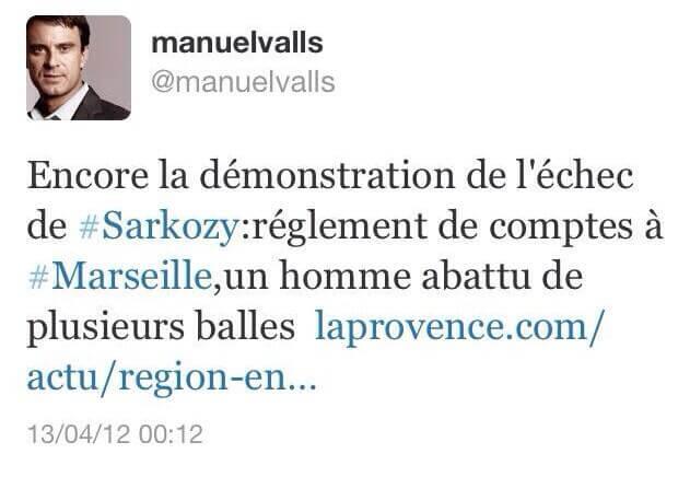 Encore la démonstration de l'échec de Sarkozy