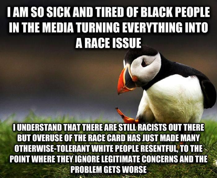 Espèce de sale raciste