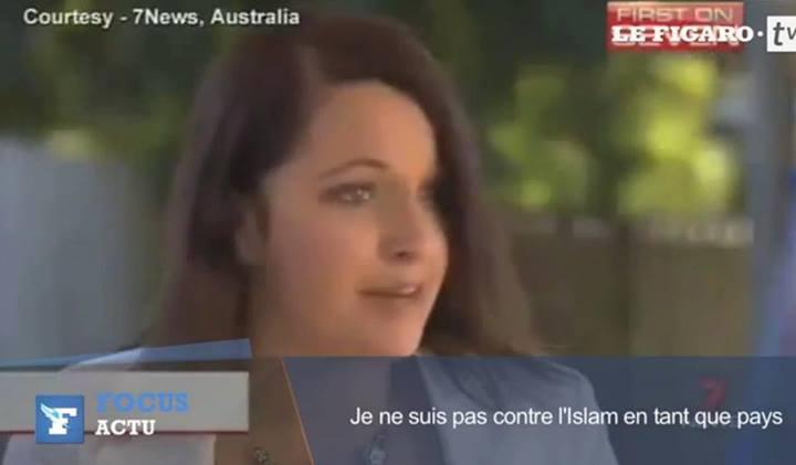 Je ne suis pas contre l'islam en tant que pays