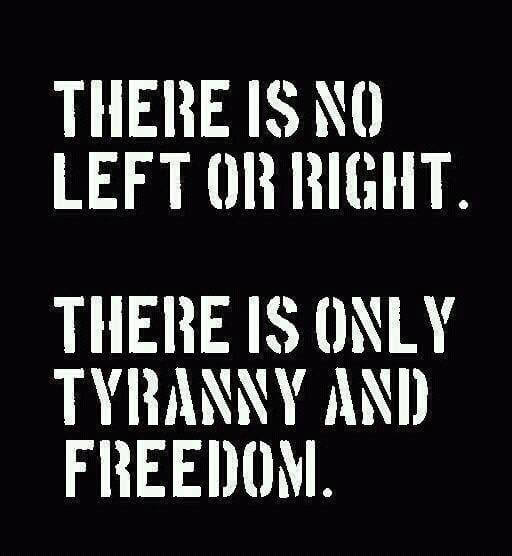 There is no left or right