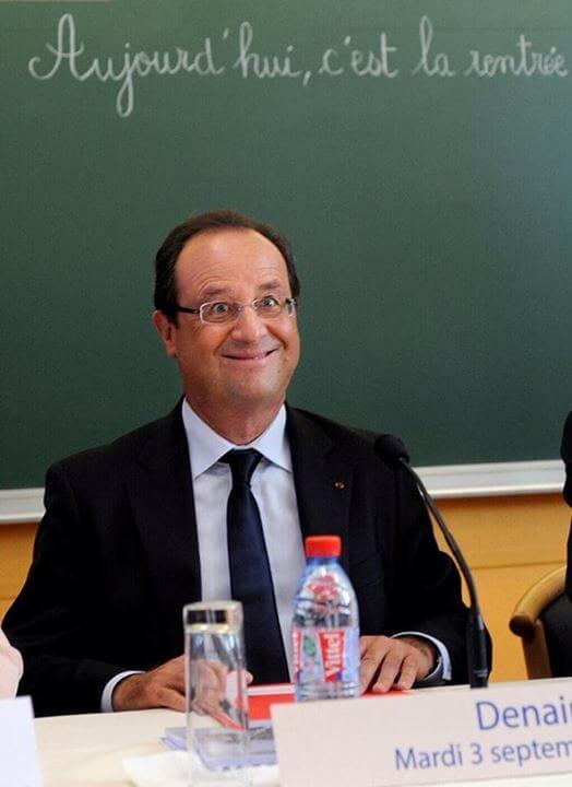 François Hollande fait sa rentrée