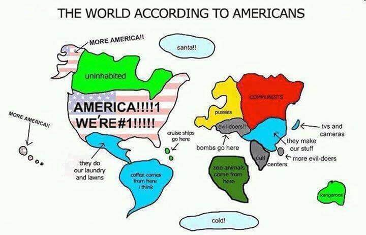 Le monde vu par les Américains