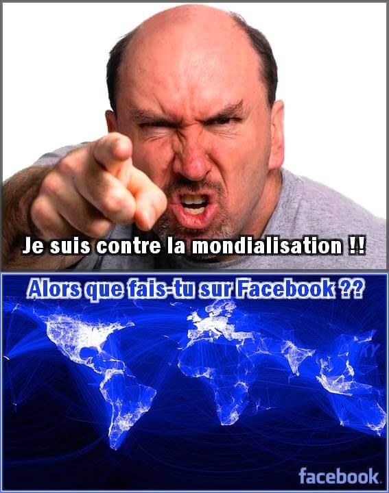 Je suis contre la mondialisation