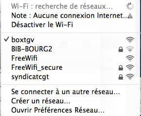 Partage wifi CGT