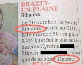 Djaysie et Rihanna