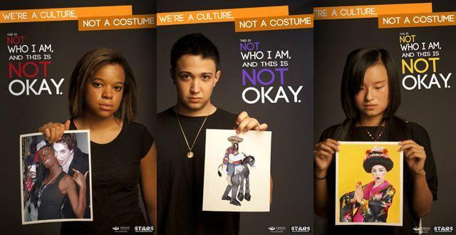 Des costumes d'Halloween racistes et sexistes