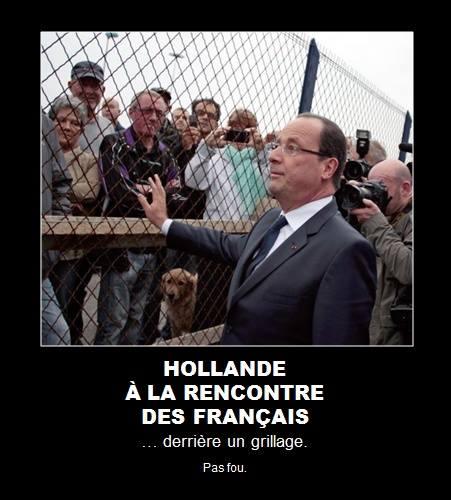 Hollande à la rencontre des Français
