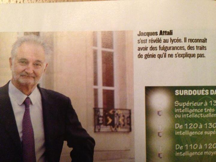 Le génie de Jacques Attali ne s'explique pas, il se vit