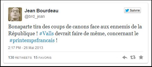 Jean Bourdeau veut tirer un coup