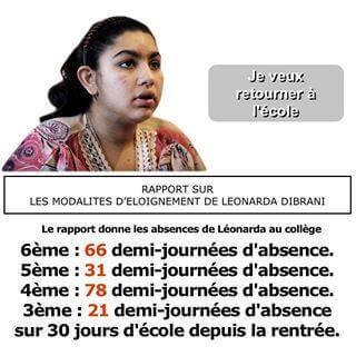 Léonarda Dibrani veut retourner à l'école
