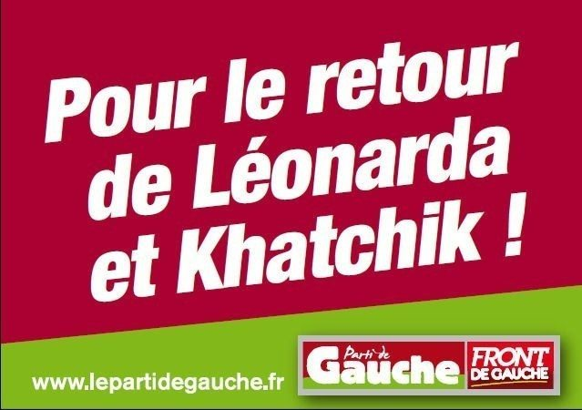 Pour le retour de Léonarda et Khatchik