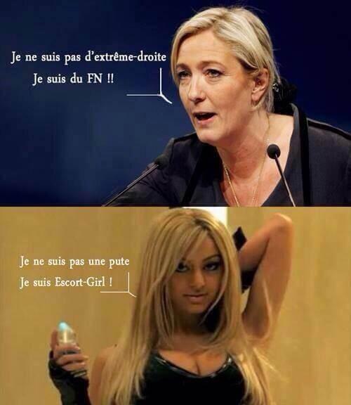 Marine Le Pen n'est pas d'extrême-droite