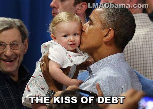 The kiss of debt