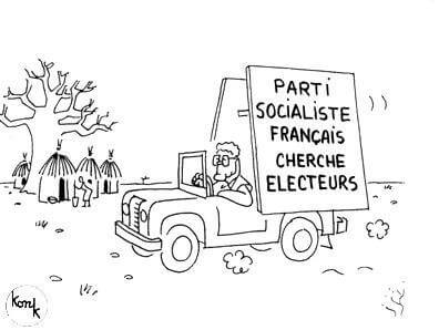 Parti Socialiste français cherche électeurs