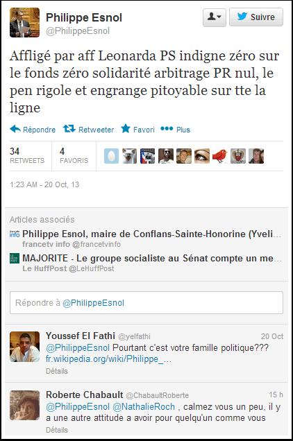 Philippe Esnol : Le Pen rigole et engrange