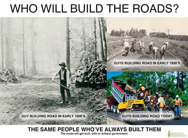 Qui construira les routes ?